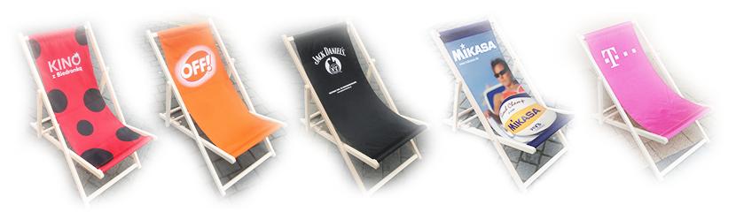 drewniane leżaki reklamowe z nadrukiem producent fortus